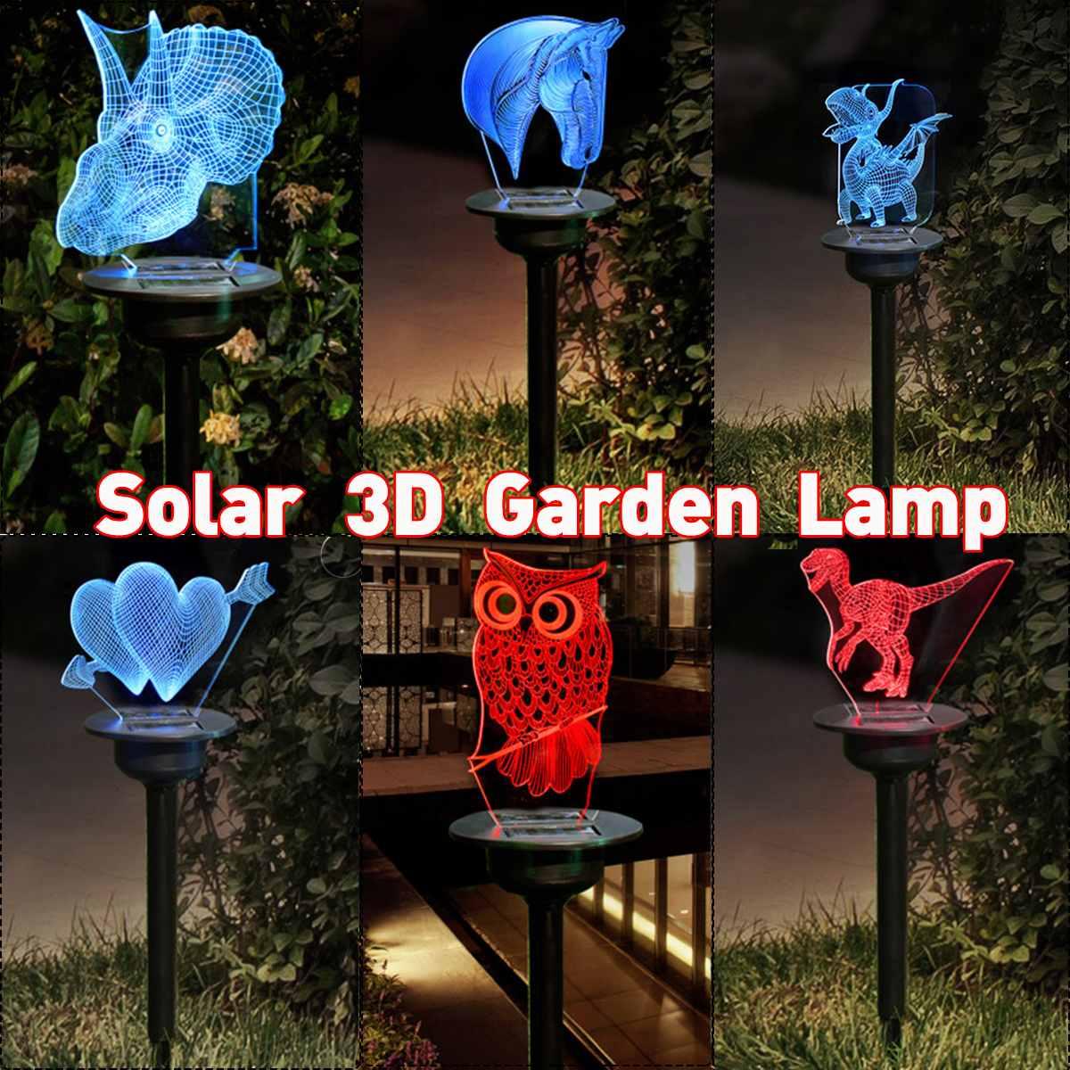 Jardín energía Solar LED luces patio, césped al aire libre de la lámpara de decoración inserta de noche pequeña luz impermeable Parque camino Villa luces de césped