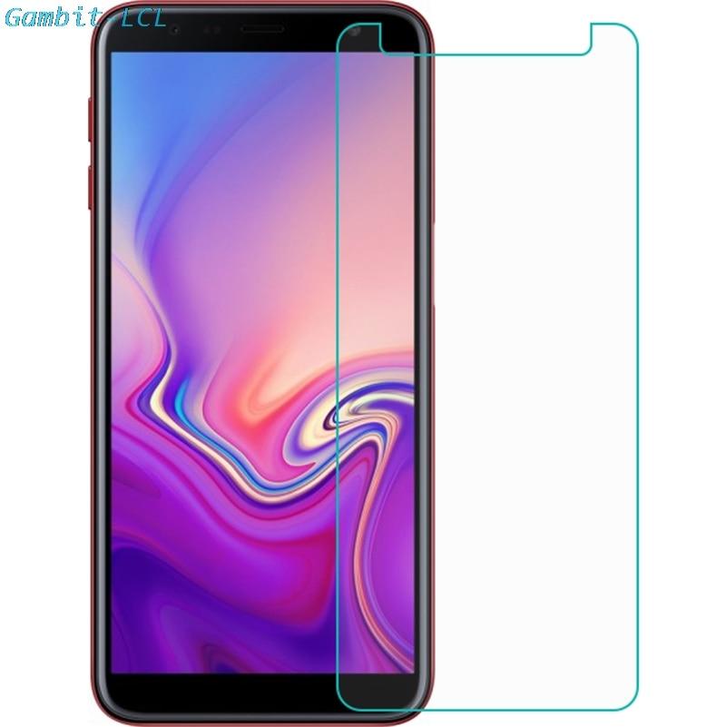 "Para Samsung Galaxy J6 + 6 ""Protector de vidrio templado para Samsung SM-J610FN J610G J610G J6 Plus 2018 Protector de pantalla película de vidrio"