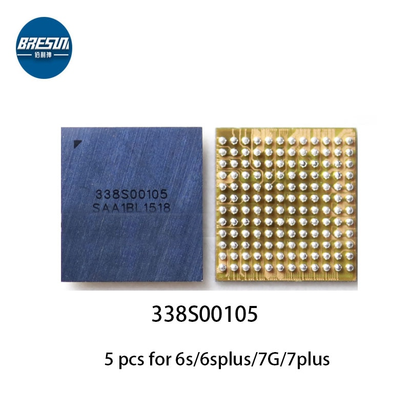 5pcs 338S00105 main audio IC for iPhone 7G 6s Plus U3101 & U3500 large audio chip CS42L71 338S1285 a