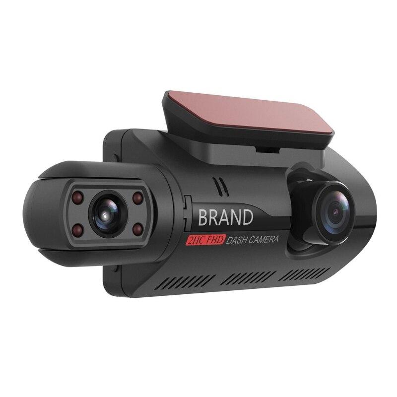 destacavel a68 suporta multi idioma carro gravador de conducao de deteccao de movimento