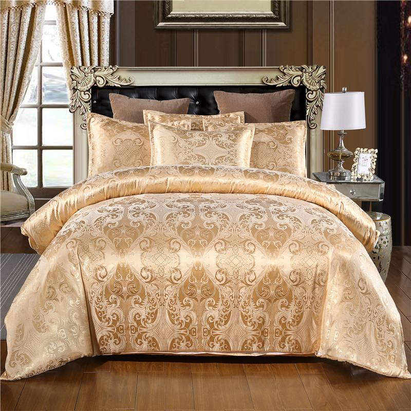 19warm sliting قماش الجاكار الفاخر طقم سرير واحد الملكة سرير ملكي غطاء لحاف من الكتان 100% البوليستر غطاء لحاف مريح