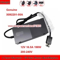 genuine x892201 00a 198w 12v 16 5a ac adapter for microsoft xbox one console brick r 41012661