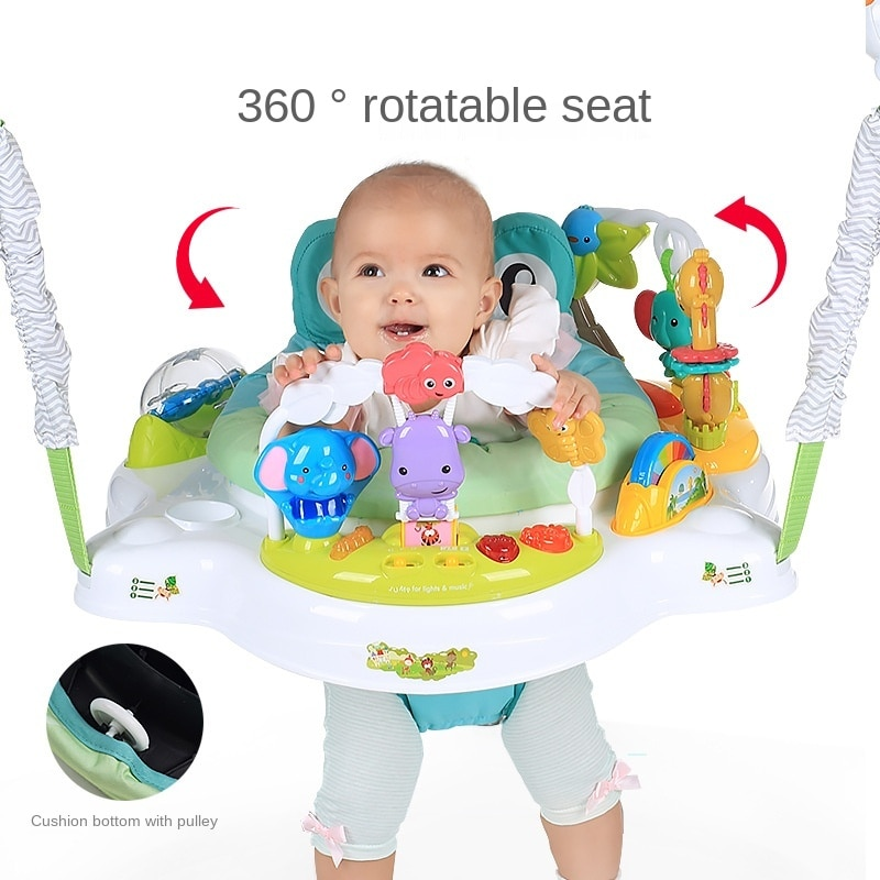 LazyChild Baby Bouncing Chair Bouncing Swing Chair Baby Jumping Chair Baby Fitness Frame Enhance Leg Strength 2021 New enlarge