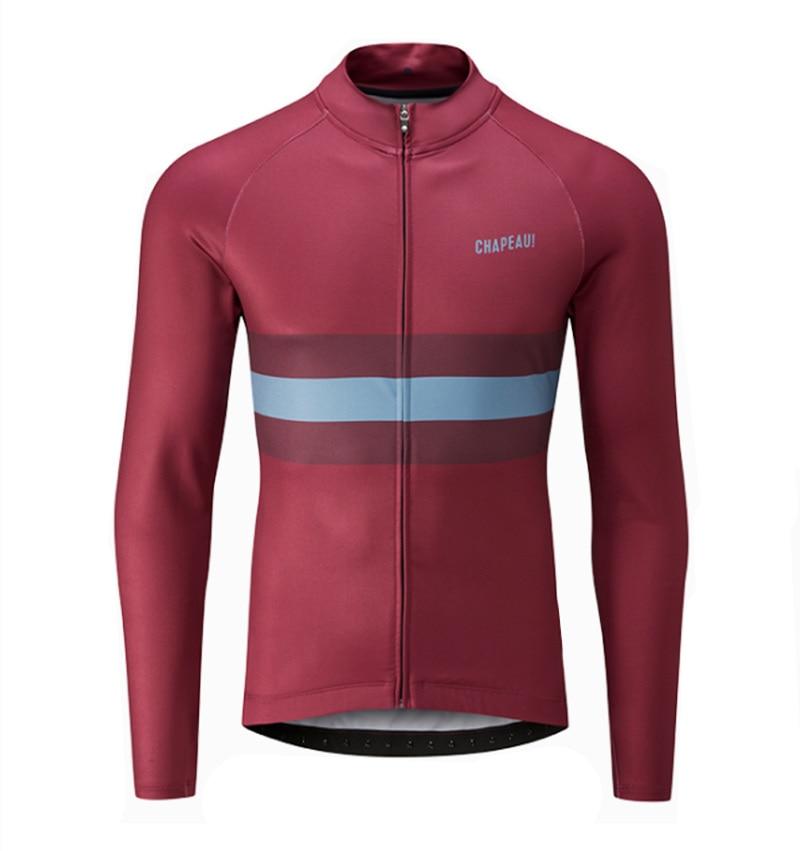 2019 Pro térmico polar manga larga Jersey de ciclismo de carretera bicicleta...