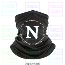 Nouveau Napoli Nessuno viens Noi adulte football Calcio T-Shirt Maradona Careca bandeau écharpe Bandana cou plus chaud femmes hommes