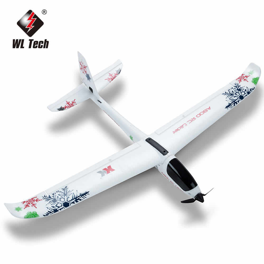 WL XK A800 5-channel RC Plane Forward-pull Fixed-wing Remote Control Aircraft Glider 3D6G Switch Kid's Toy enlarge