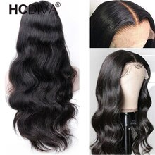 Body Wave Lace Front Wig For Women 13x4 Lace Front Human Hair Wig  Peruvian Remy Human Hair Wig Pre