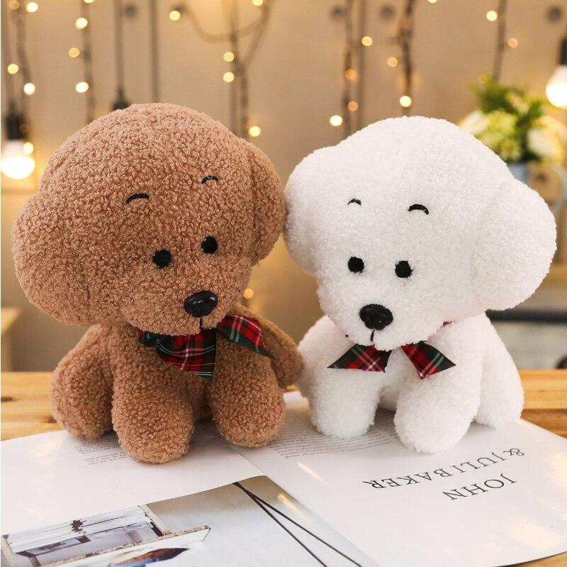23/35/45cm simulación encantador perro maniquíes mascota muñeca lindo perro de peluche de juguete para niñas regalo de la muñeca de Casa Dressup