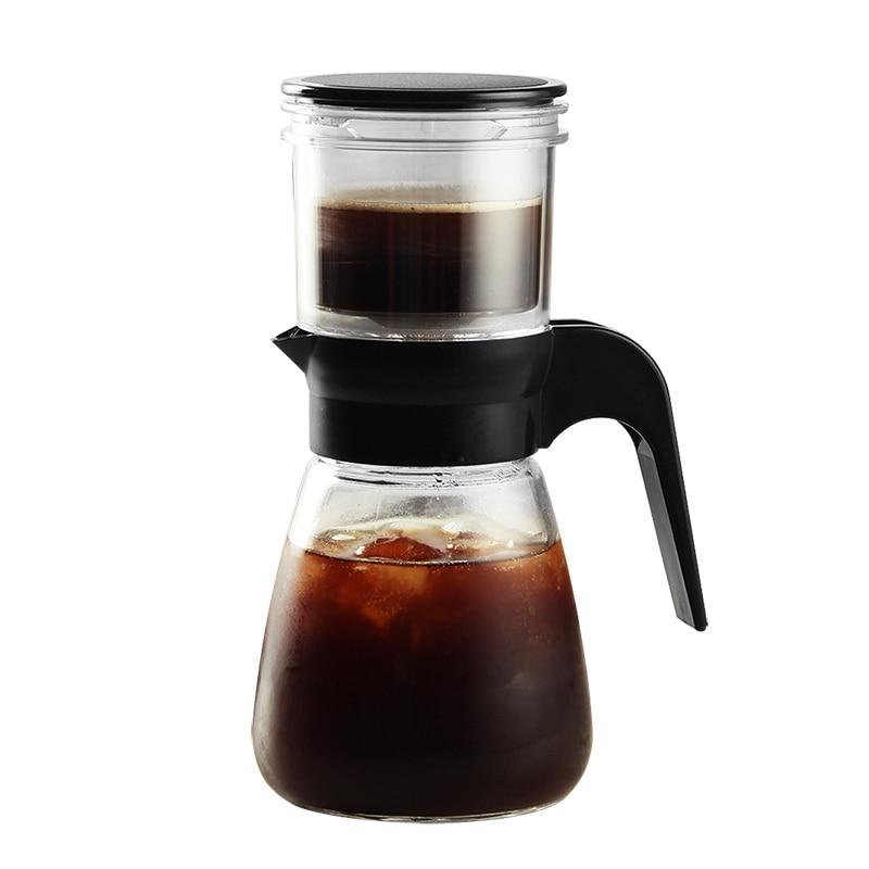 Fermentação percolador pote de café filtro acampamento portátil máquina de café espresso ferramentas cafeteira francesa portátil mocha pot ea6kfh