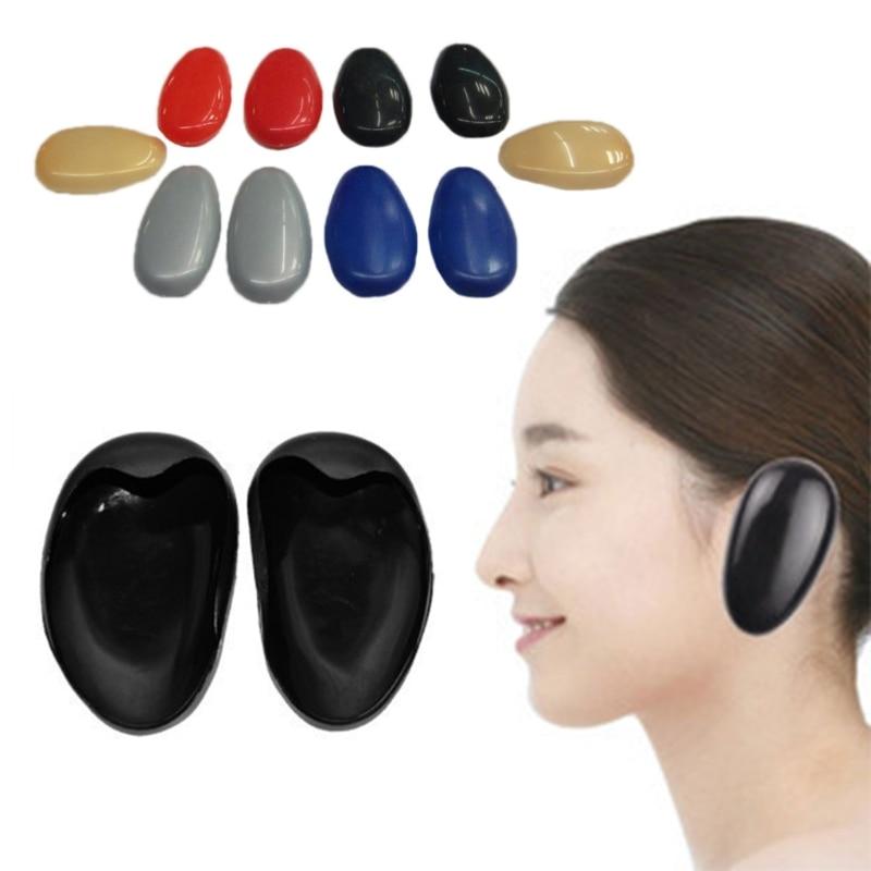 1 paar Kunststoff Ohr Abdeckung Haar Farbstoff Farbe Färbung Schild Schützen Wache Salon Neue