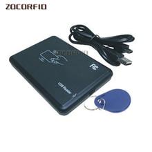 Contrôle daccès sans contact   15 types, lecteur de carte IC intelligent 14443A pour Mifare avec Interface USB + clavier