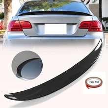 Новый настоящий спойлер из углеродного волокна для заднего багажника BMW E92 Coupe 328i 335i M3 2Dr 2007-2013