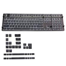 Rvb 143 Keycaps ANSI disposition PBT pouding Double peau lait coup rétro-éclairé Keycaps pour Corsair K70 K65 clavier mécanique