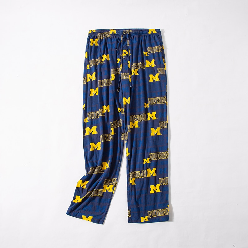 Мужские штаны для сна, бытовые Хлопковые Штаны для сна для мужчин