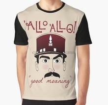 Camiseta con estampado 3D para mujer, camiseta divertida para hombre, camiseta gráfica de Allo oficial Crabtree good moaning