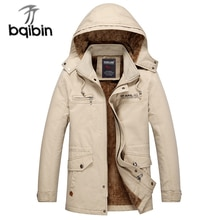 2021 Winter New Men Jacket Brand Casual Mens Thick Warm Windproof Winter Fashion Hoodies Casual Slim