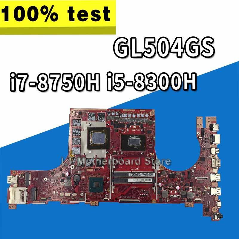 Placa base GL504GS, i7-8750H de i5-8300H para ordenador portátil ROG ASUS GL504GV GL504GW GL504GS, placa base (Cambio)
