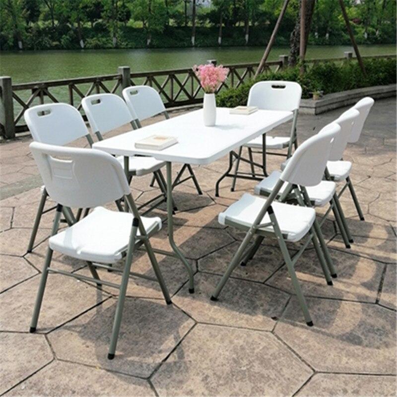 Mesa Plegable portátil para acampar, muebles pequeños para exteriores, Mesa de Bar, Picnic, Escritorio, café, oficina, comedor, Escritorio Industrial