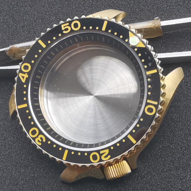 Heimdallr Solid Aluminum Bronze Watch Case Sapphire Crystal 200M Waterproof For NH35A/NH36A Automatic Movement Mechanical