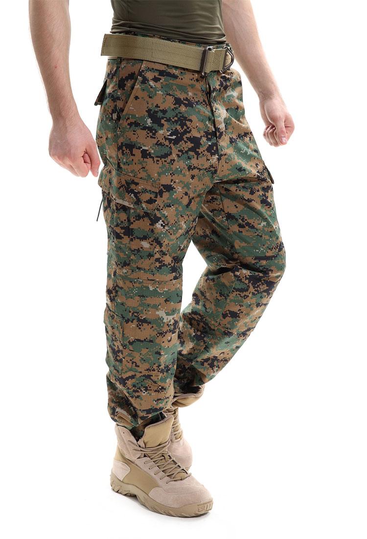 Камуфляжные штаны тактический брюки с широкими карманами Брюки карго военные армейские хлопковые брюки SWAT армейские Повседневное брюки по...