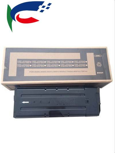 2pcs TK-6705 TK6705 TK6706 TK6707 TK6709 cartucho de Toner para kyocera TASKalfa 6500i, 6501i, 8000i, 8001i