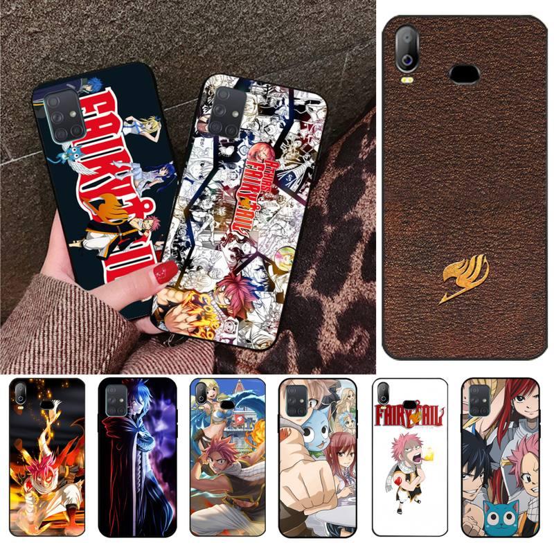 HPCHCJHM Anime Manga Fairy Tail Soft Silicone TPU Phone Cover For Samsung A10 A20 A30 A40 A50 A70 A80 A71 A51 A6 A8 2018