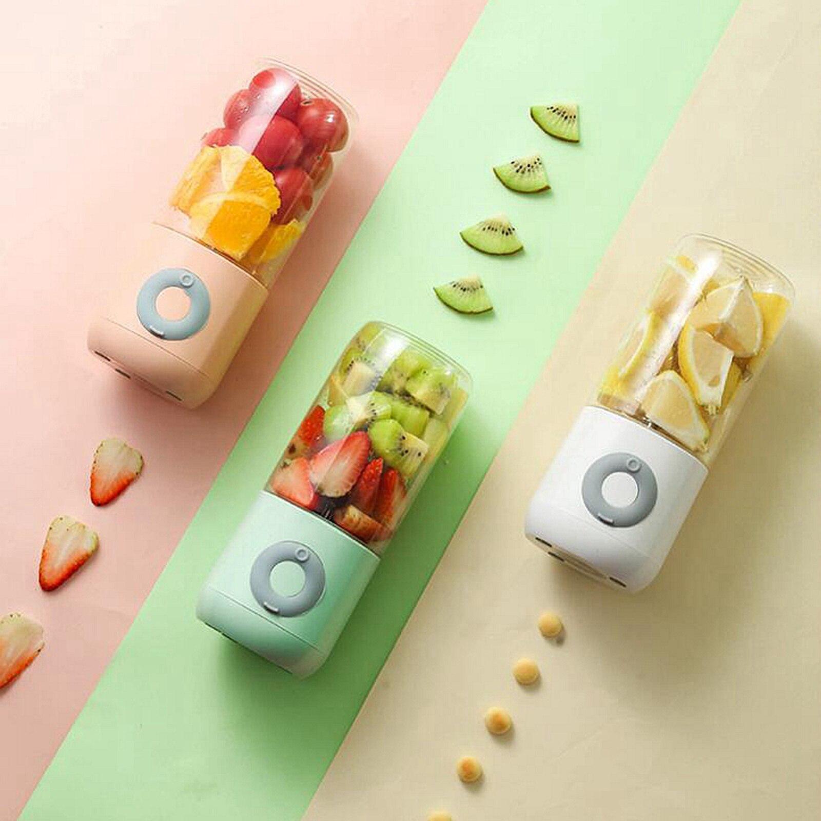 القاطع عصارة صغيرة محمولة USB خلاط كهربائي الفاكهة خلاط عصائر لآلة منتج أغذية صانع مستخرج العصير