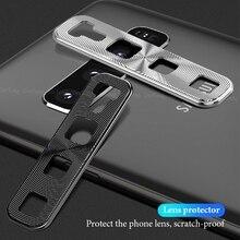 Protecteur de couverture de caméra en métal pour Samsung Galaxy S10e S10 Plus en aluminium dur PC anneau de Protection couvercle de caméra pour Galaxy A30 A50