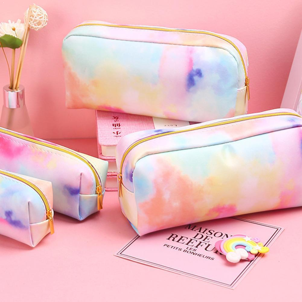 Lovely Pencil Case Make UP Gift School Pencil Box Stationery Pencilcase For Girl School Supplies Bag new 1 pc pencil case avocado school pencil box pencilcase transparent pencil bag school supplies stationery