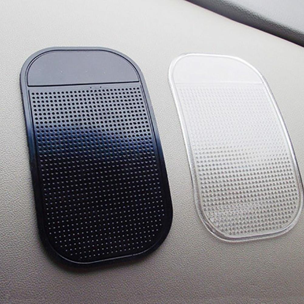 Hot Sale Car Non-slip Silicone Sticky Gel Pad Round Mat Holder Waterproof Phone Silicone Silicone Dashboard Magic Anti-skid P5U2