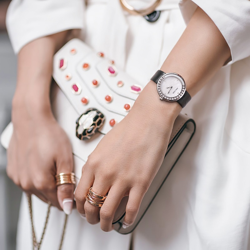 Women Watches Woman Fashion Watch AGELOCER Designer Lady Watch Luxury Diamond Quartz Rose Gold Wrist Watch Gifts For Women enlarge