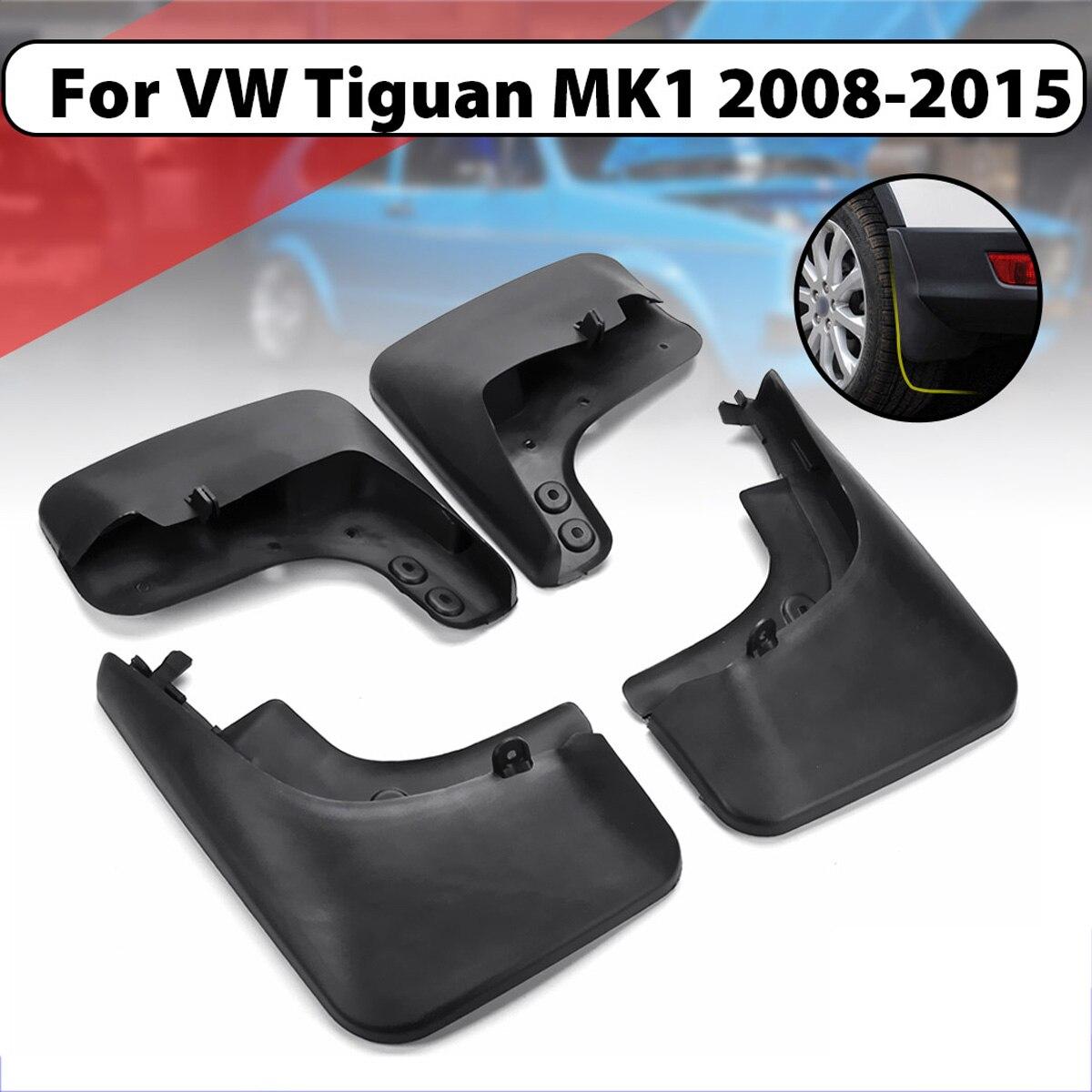 Брызговики для VW Tiguan MK1 2008 2015 Fender Брызговики спереди и сзади брызговики крылья 2009 2010 2011 2012 2013 2014 2015