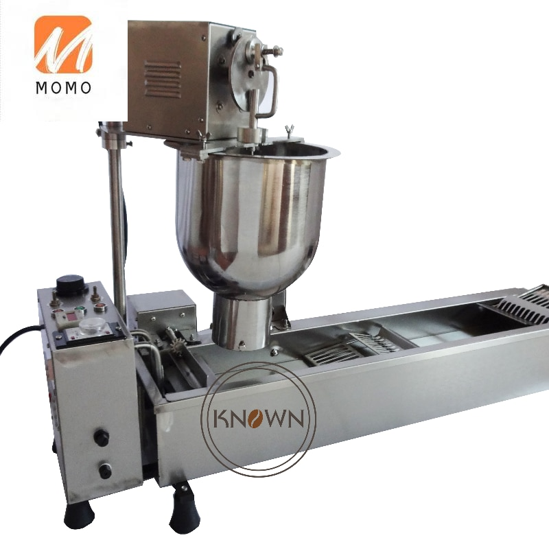 ماكينة إعداد حلوى الدوناتس الصغيرة التلقائي/دليل دونات روبوت مع 3 قوالب