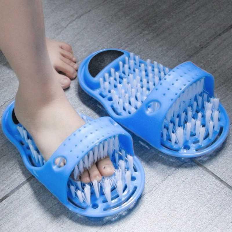 Lavando los pies artefactos cepillando los pies zapatos zapatillas frotando piedras frotando los pies removedor de callos piel muerta y frotando los pies