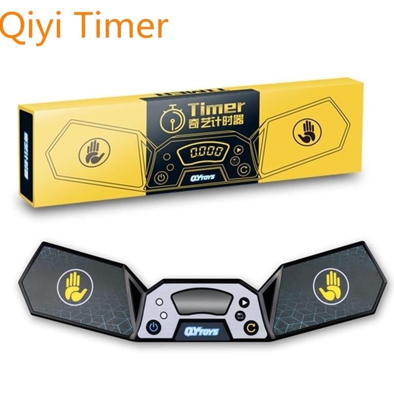 Qiyi, temporizador de cubo mágico Qiyi, temporizador para cubo de velocidad, taza de vuelo, ejercicios de entrenamiento diario, temporizador de cubo