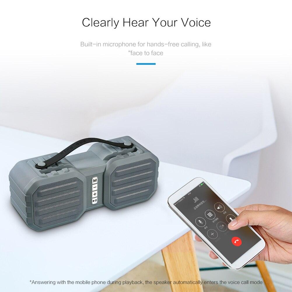 Sem fio bluetooth alto-falante suporte fm aux tf usb musical x8 portátil tws altifalante agradável instrumento suprimentos