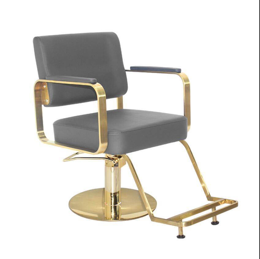 Парикмахерский салон, специальное парикмахерское, высококачественное кресло для стрижки и окрашивания волос, простой современный стул