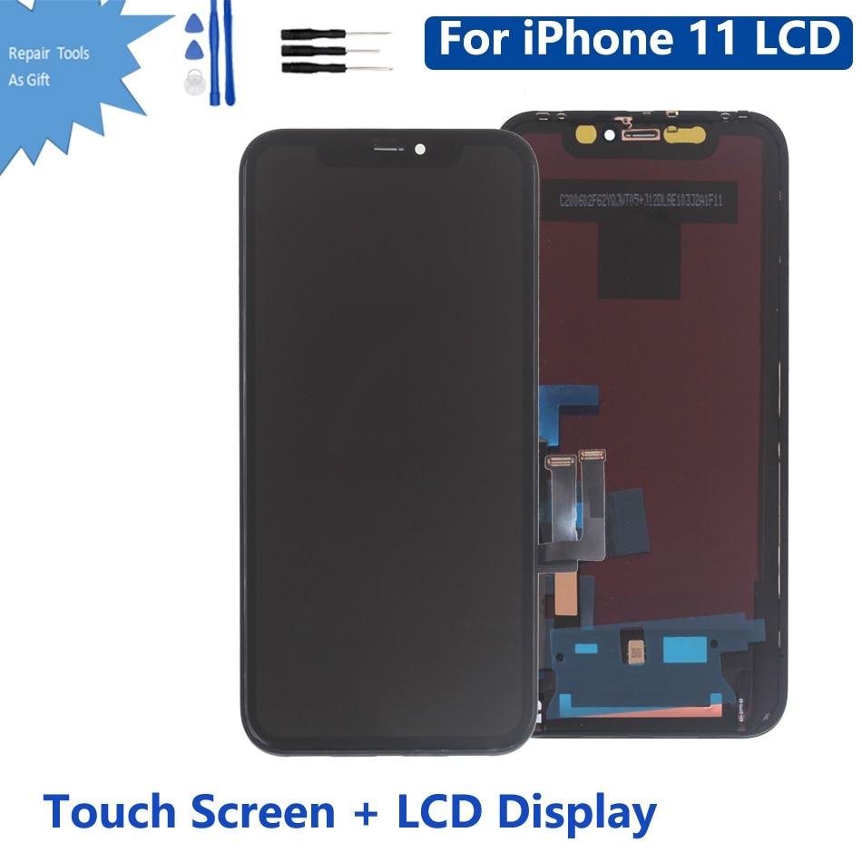 OLED OEM para iPhone 11 pantalla táctil LCD pantalla digitalizador montaje para iPhone11 pantalla LCD