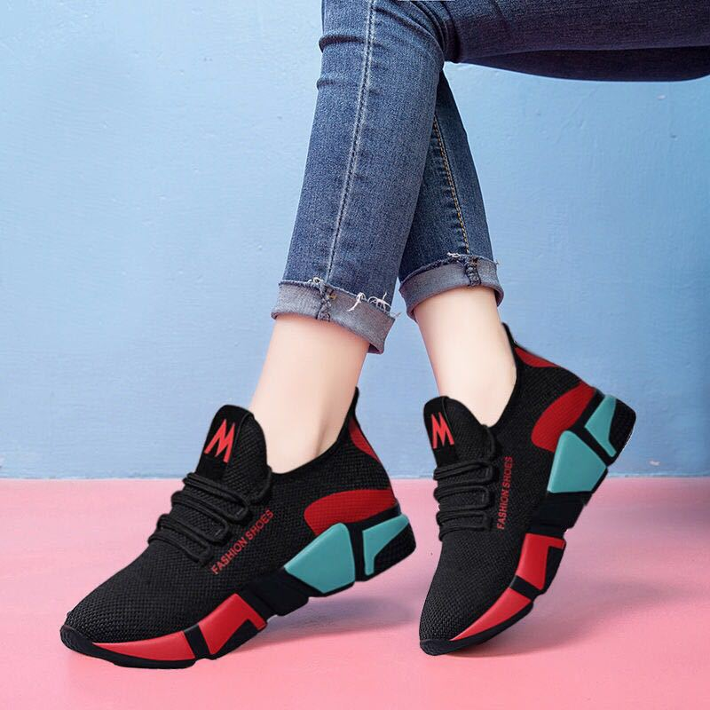 2021 New Spring Women casual shoes Breathable Mesh platform Sneakers Women New Fashion mesh sneakers