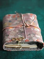 hand account book simple japanese ancient loose book removable