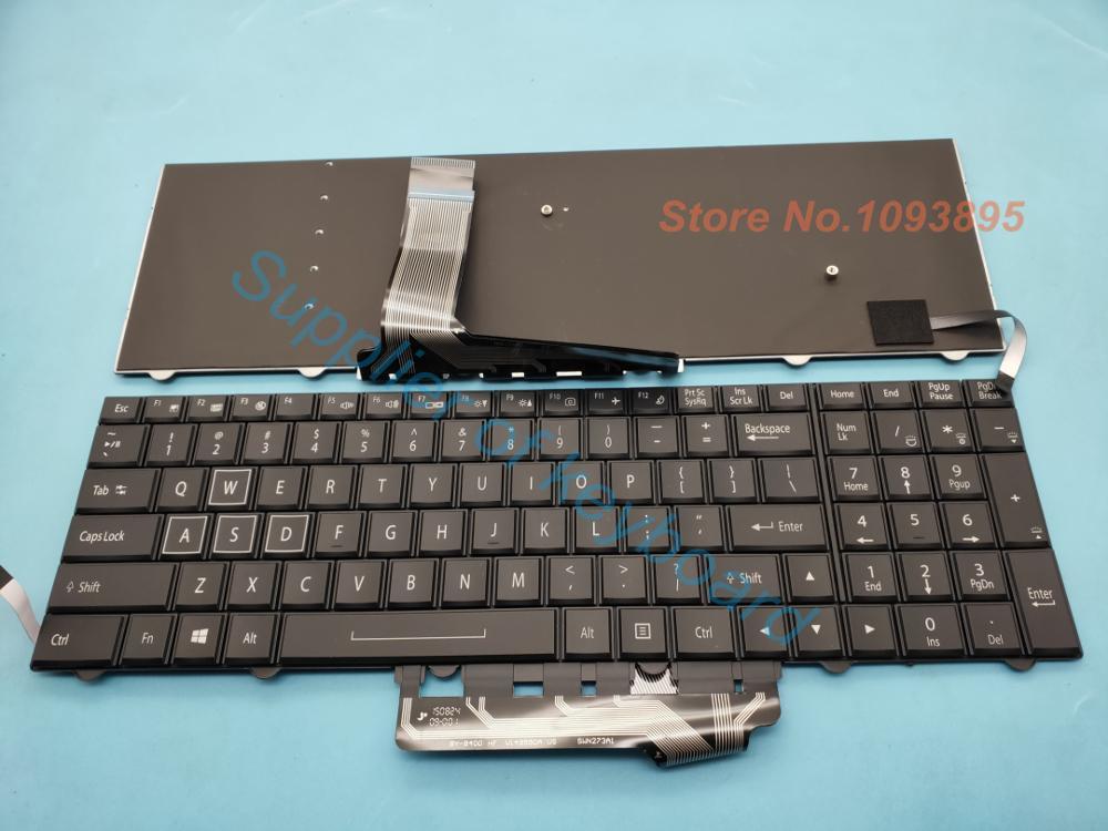 Nuevo teclado Inglés para Clevo P870KM-G P870KM1 P870KM1-G P751TM P750TM1 teclado Inglés portátil con retroiluminación