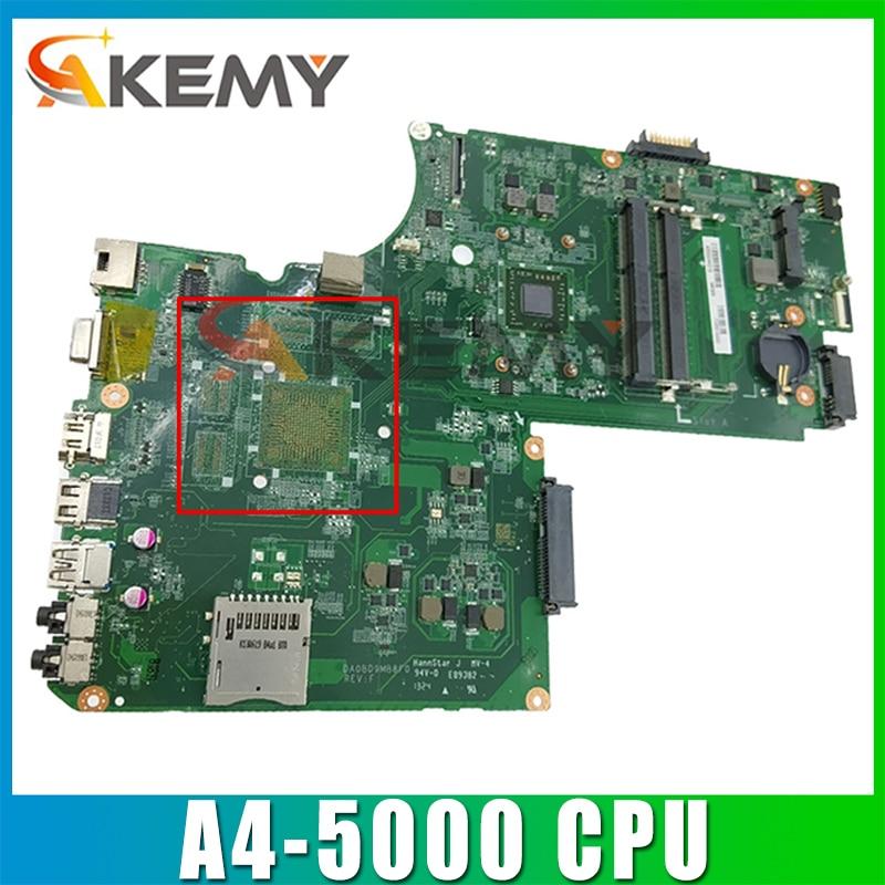 A000243960 DA0BD9MB8F0 اللوحة الأم لأجهزة الكمبيوتر المحمول توشيبا L75D اللوحة الرئيسية A4-5000 وحدة المعالجة المركزية على متن DDR3