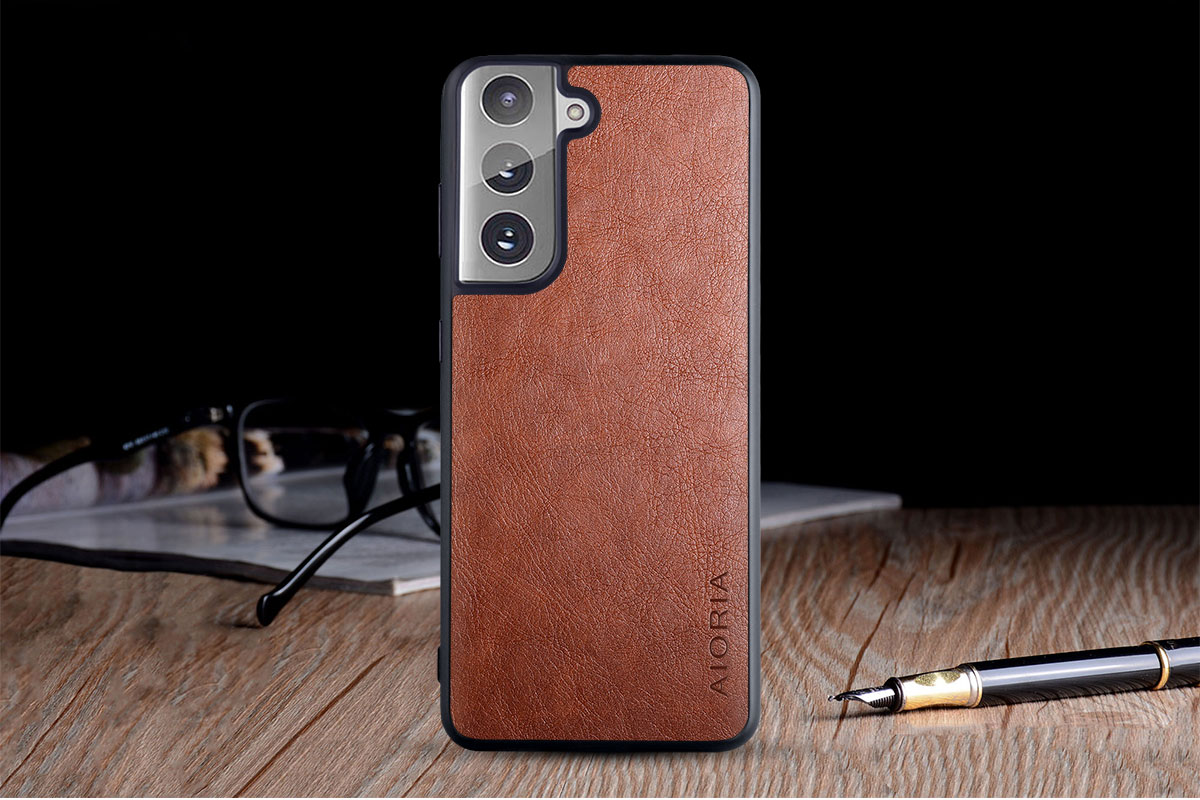 Galaxy S21 Ultra Leather Case 4