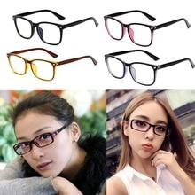 Fashion Women Men Transparent Computer Glasses Spectacle Frame Anti Blue Ray Clear Lens Eyeglasses