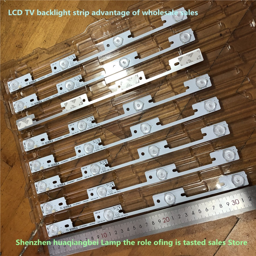 جديد 20 قطعة * 4 المصابيح * 6V LED شرائط العمل للتلفزيون KDL39SS662U 35018339 KDL40SS662U 35019864 35018340 327 مللي متر
