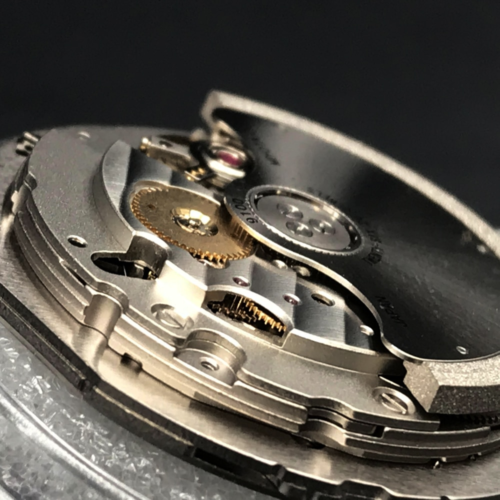 Original Japan MIYOTA 9100 Automatic Movement Top Luxury Brand Watch Replace Movt Parts Twenty-Six Jewels with White Datewheel enlarge