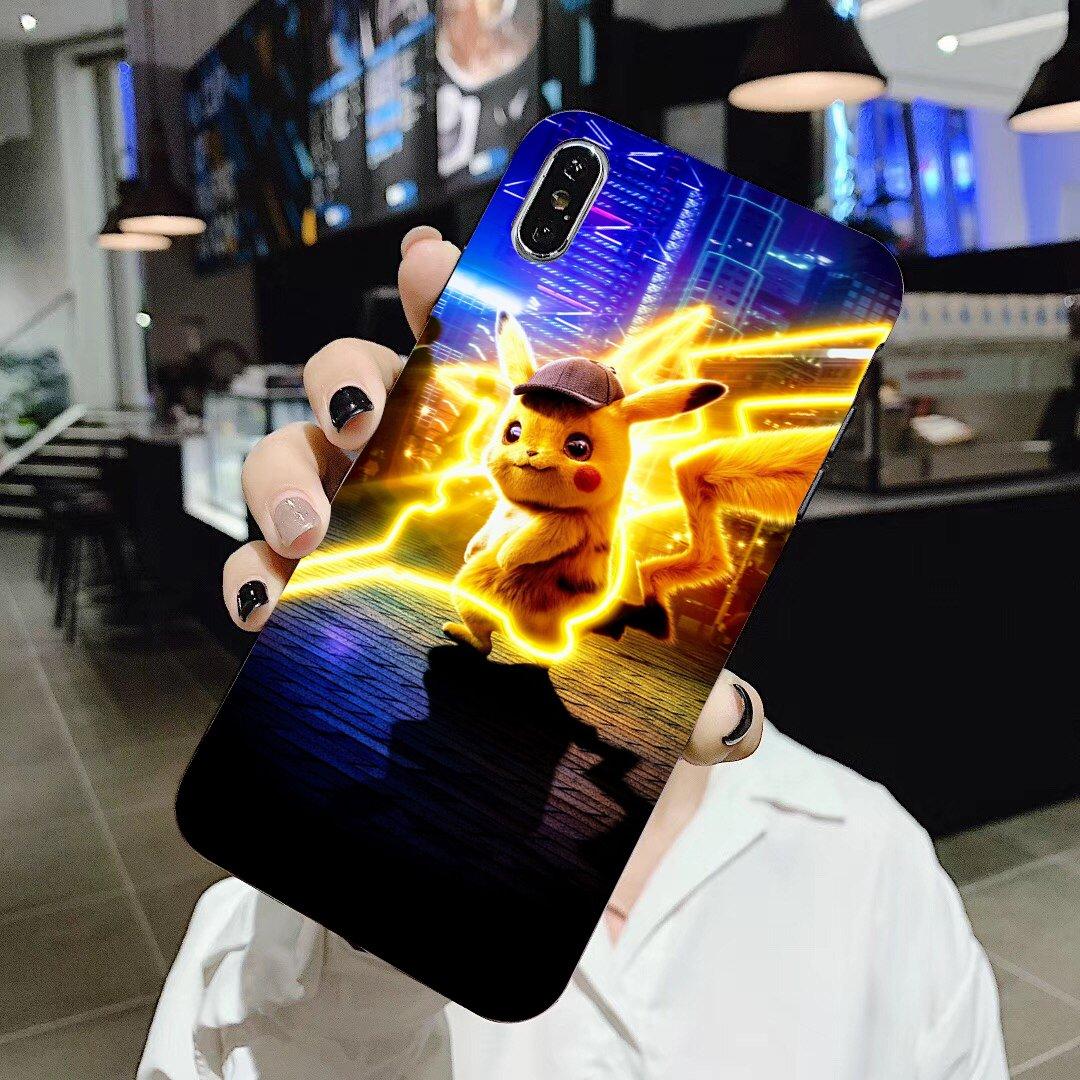 Pikachu Silicone Phone Case For Samsung Galaxy J1 J2 J3 J4 J5 J6 J7 J8 Plus 2018 Prime 2015 2016 2017