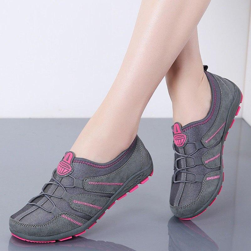 ¡Novedad de 2020! Zapatos planos de primavera para Mujer, zapatos informales transpirables...