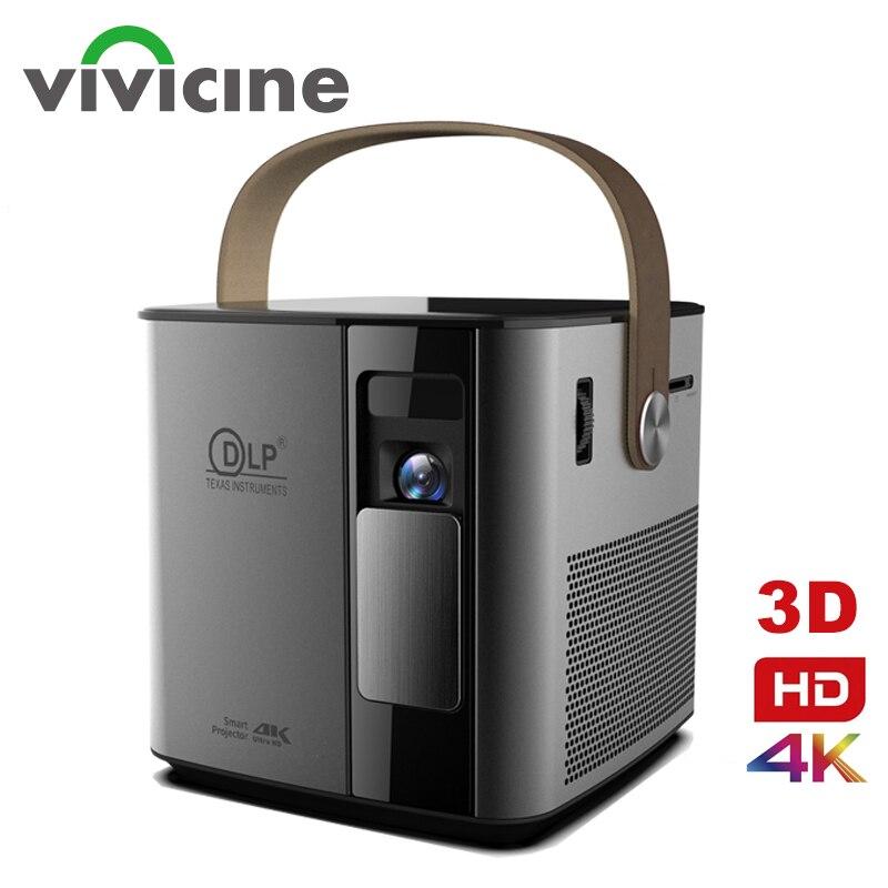 Vivicine-Proyector 3D para cine en casa, dispositivo de proyección 4K P12, con...
