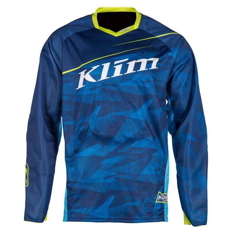 2020 Klim motocross jersey de secado rápido transpirable bicicleta de montaña camiseta ciclismo gp maillot equipation mtb